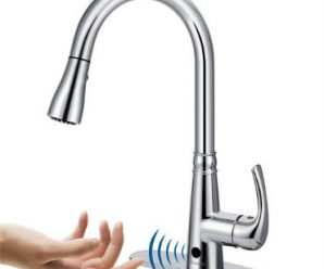 automatic kitchen faucet