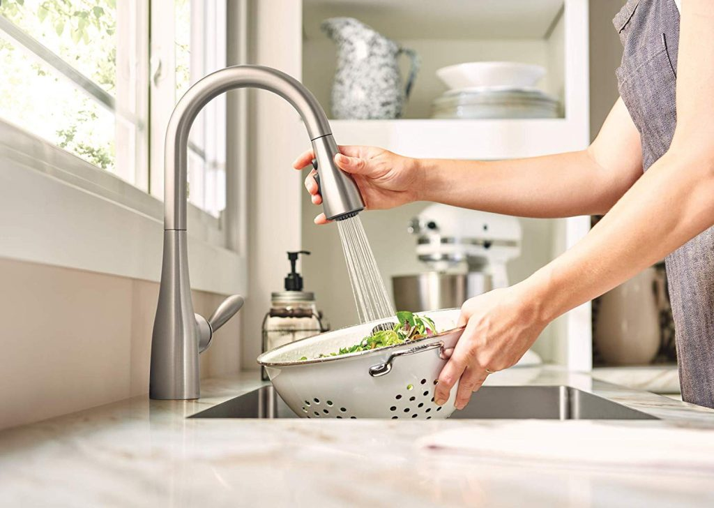 benefits of moen kitchen faucets