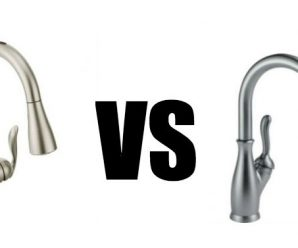 When shopping for a new kitchen faucet, you want to find a trustworthy company that you can commit to for as long as it takes. A kitchen faucet is not a fixture you want to be changing too often. To find that company, you don't necessarily need to get acquainted with all the possible brands. The key is finding the best of them. And two brands that stand out in this industry are Moen and Delta. So in this article, we'll go into Moen vs Delta comparison to understand which one is better. Designs Both brands offer a variety of styles and designs, with probably the biggest selection among all brands. This makes it easy picking the style that would perfectly compliment your kitchen decor. Delta's line of kitchen faucets includes traditional designs, such as the Leland collection; transitional designs, such as Essa; and modern designs, such as Trinsic. You can also find pull-down and pull-out designs. Moen offers commercial styled faucets, such as Align; traditional, such as Brantford; and modern, such as Arbor. There's also a wide selection of both pull-down and pull-out models. Finish Options As you probably know, the finish of the fixture is also a major element of the design. Picking the wrong finish might result in the faucet looking out of place among your kitchen decor even if it comes in the most amazing design. The two timeless finishes are chrome and oil-rubbed bronze. Chrome is a low maintenance finish that will sparkle year after year and which easily matches other elements of decor. Oil-rubbed bronze, on the other hand, is more suitable for traditional designs as it provides a lovely splendor of yesterday. These two brands, however, usually offer more than just these two colors. In addition to chrome and oil-rubbed bronze, other popular finishes that Moen offers include matte black and stainless. Most common Delta finishes include chrome, stainless, matte black and Venetian bronze. Moen and Delta also use different technologies to enhance the durability of the faucet's coating. Moen uses Spot Resist technology, which helps to keep the finish clean and free of mineral buildup, fingerprints and water spots. Delta, on the other hand, uses the SpotShield technology, which essentially does the same. It resists water spots and fingerprints. However, in addition, it also provides antimicrobial protection. Advanced Spray Technology Both brands offer a wide selection of pull-down designs. This type of faucets allows the close-up power of a high pressure water stream. It makes it easier rinsing off any mess that has stuck to your dishes. However, Moen and Delta use different technologies for delivering this jet-like water stream. Moen uses the Power Clean technology. It provides an optimized, concentrated spray that is 50% more powerful than most other pull-down faucets. At the same time, this power does not result in more splash. Instead, the produced spray is contained, creating minimized mess around the kitchen sink area. Delta uses the ShieldSpray technology. It's also designed to provide a more powerful jet of water to make it easier cleaning away any mess on your cookware. However, it also creates a protective sphere around the concentrated jet. This also helps to prevent splatter. Touch And Touchless Technologies Moen and Delta also offer the convenience of touchless operation. But again, they use different technologies. Moen uses the MotionSense technology that integrates sensors inside the faucet. Some models come with one sensor, while others have two. One is located on top of the spout and the other in front of the spout's base. So all you need to do is wave your hand or any object over the faucet or in front of it. This will activate the water flow. Delta offers both touch and touchless operation. The touch functionality is provided by the Touch2O technology. It makes the faucet's body and handle intuitive to your touch. So if you don't want to spread the dirt from your hands to the faucet, just tap it with the back of your hand and it will get the water going. If you want the completely touchless operation, Delta also designed the Touch2o faucets with built-in motion sensors. Though, most of the Delta kitchen faucets only have the touch technology. Customer Support Both of these companies seem to have a good share of good and bad reviews. Some say it's difficult to get a hold of them for requesting replacement parts, while others praise how friendly and helpful they are. Warranty Both companies provide a limited lifetime warranty. So if you'll find any defects in material or workmanship, you can request the company for a replacement. However, the commercial use of their faucets shortens the warranty period to 5 years. The same goes for electronic faucets with touch or touchless technology. They come with a 5-year warranty. Price Most people want to find a faucet that would fit their specific budget. The good news with both Moen and Delta is that you can find a faucet in any price range, from $50 to a $1000. However, Delta faucets tend to be slightly cheaper. It's important to note that a lower priced Moen or Delta faucet doesn't necessarily mean inferior quality. They deliver high quality and durability across the entire price spectrum. The price of the product depends more on the features and functions it offers. Bottom Line As you can see, there are many similarities between Moen and Delta. They score similarly in terms of style and function. Both provide highly durable products that will provide you with high performance for years to come. There are also a few differences also. Those that prefer affordable faucets, often choose Delta, while those that want the touchless operation, prefer Moen.  If you're still not sure which brand to choose, check out their product reviews and compare the designs and features they offer.