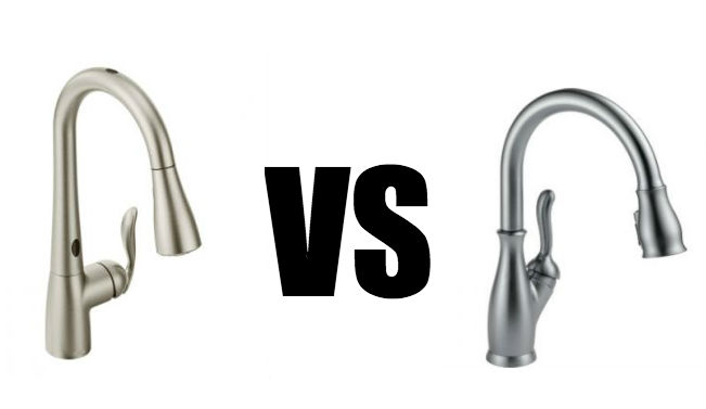 Moen vs Delta - Kitchen Faucet Brand Comparison - Faucets Rated