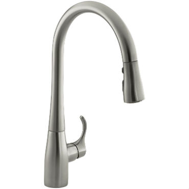 top pull down kitchen faucets