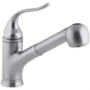 top pull out kitchen faucets