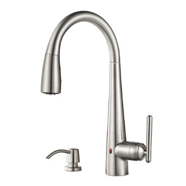 touch free kitchen sink faucet